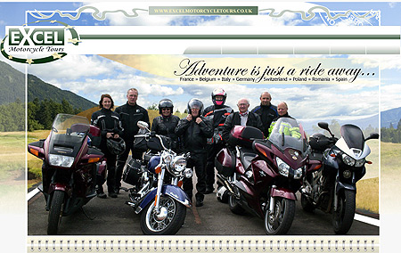 EXCEL MOTORCYCLE TOURS - Motorcycle Guided Holidays and Tours throughout Europe