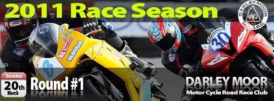 Motorcycle Racing and Road Racing at Darley Moor