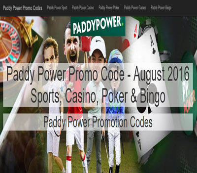 paddy power casino promo codes